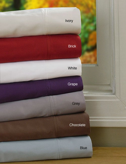 400 Thread Count Egyptian Cotton Blend Sheet Set