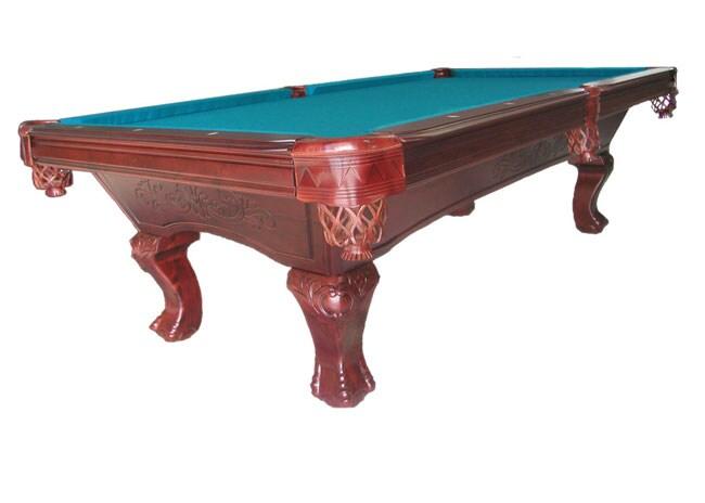 Shop Princeton Solid Wood Slate Pool Table Free Shipping Today - Princeton pool table