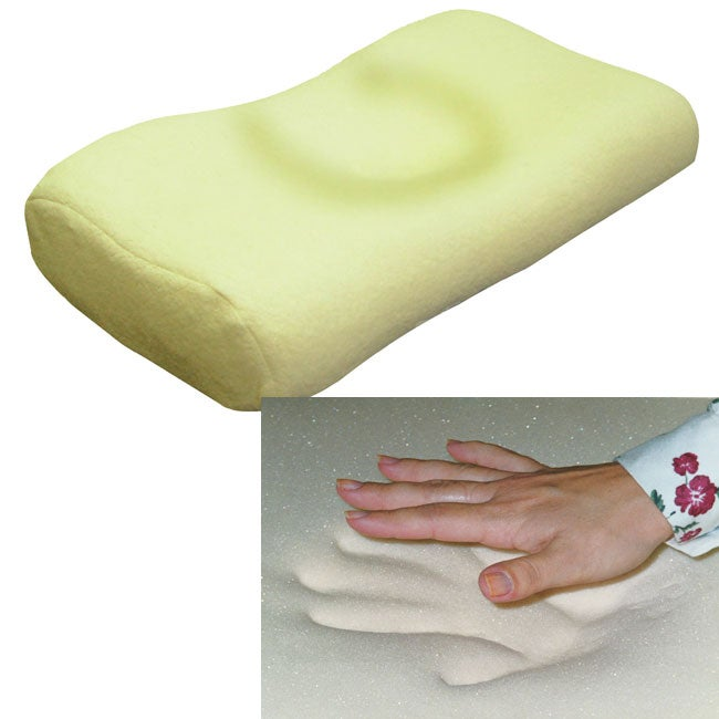 Cradling Comfort Elite Traditional Memory Foam Pillow : Memory Foam Head Cradle Pillow - Free Shipping Today - Overstock.com - 10786175