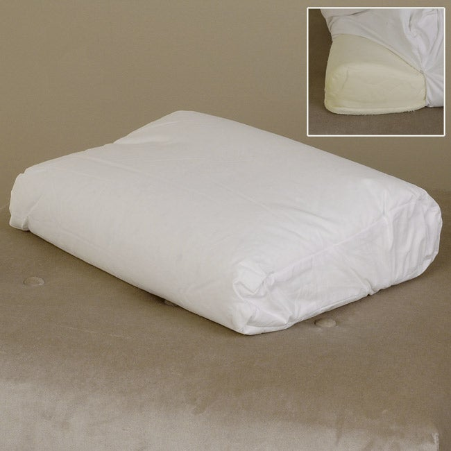Serta Gel Memory Foam Mattress Topper Reviews Memory Foam Pillow Wrapped in Pure Down Cover - Free Shipping Today ...
