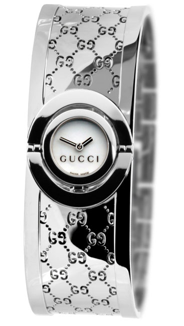 e6742e4545a Shop Gucci 112 Twirl Women s Stainless Steel Watch - Free Shipping Today -  Overstock - 2566267