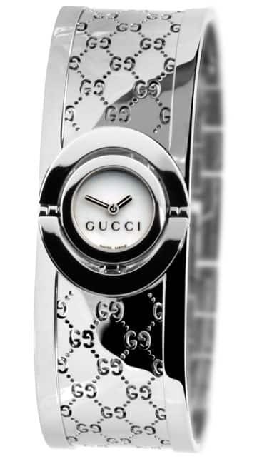 Gucci 112 Twirl Women's Stainless Steel Watch