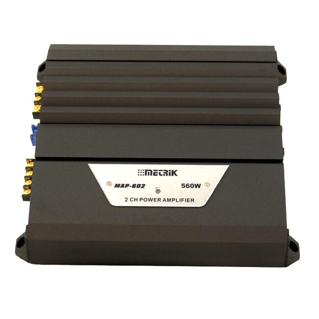 Metrik 2 Channel High Performance Power Amplifier