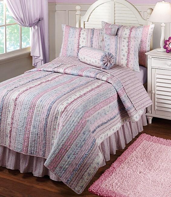 Emma Lavender Quilt Set