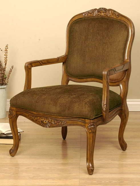 Taupe Brown Accent Chair Free Shipping Today Overstock