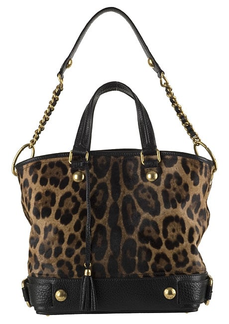Shop Dolce   Gabbana Leopard Print Tote Bag - Free Shipping Today ... 4744e1ad9404a