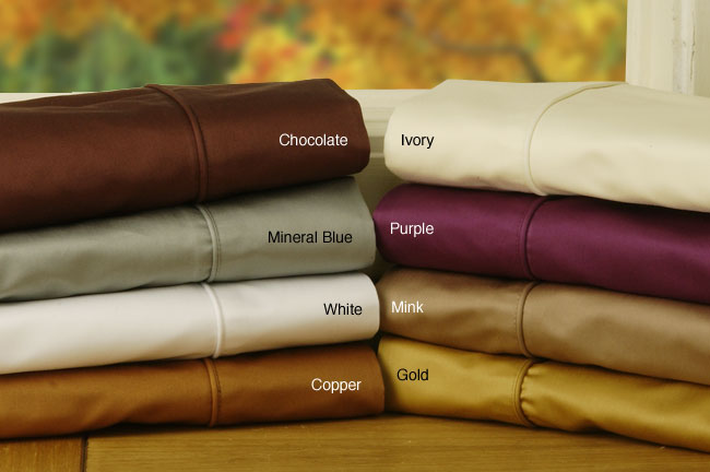Luxury 800 Thread Count Combed Cotton Sheet Set