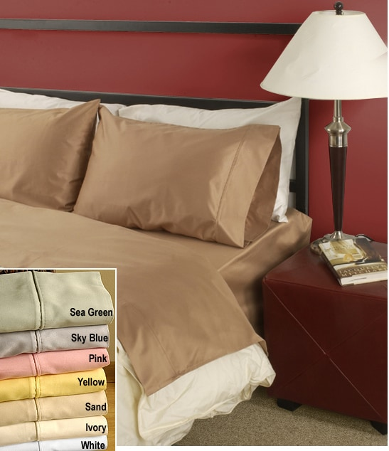 300 Thread Count Luxury Combed Cotton King Size Sheet Set