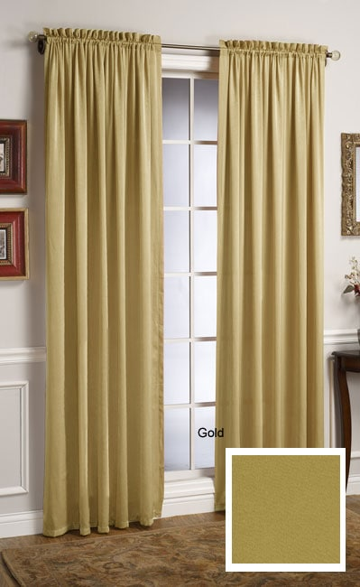 Glamour 84-inch Wide Curtain Panel Pair