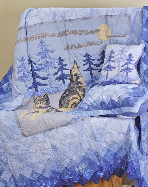 Wolf Family Quilt Set