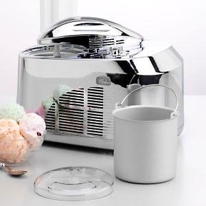 Wolfgang Puck Chrome 1 1/2-quart Ice Cream Maker (Refurb)