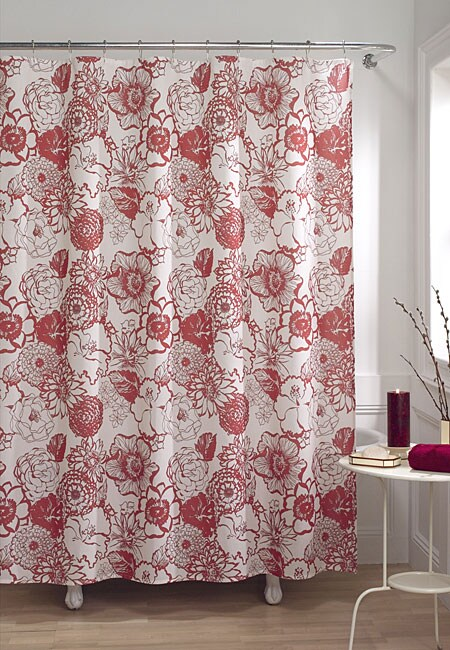 Bloom Fabric Shower Curtain