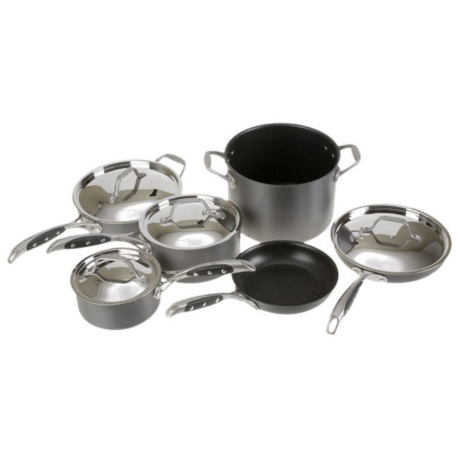 Sabatier Signature 10-piece Anodized Cookware Set