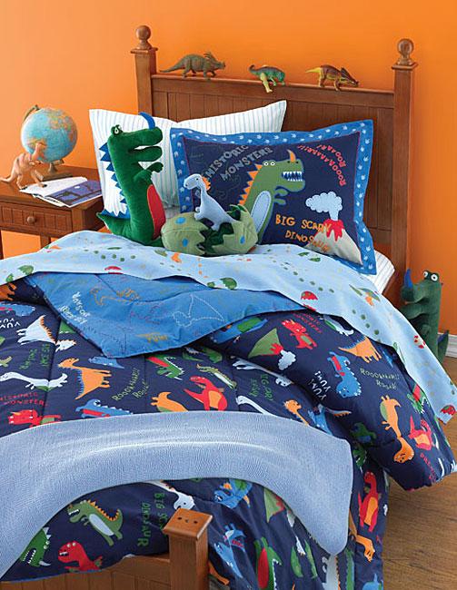 Scary Dinosaur Bedding Ensemble