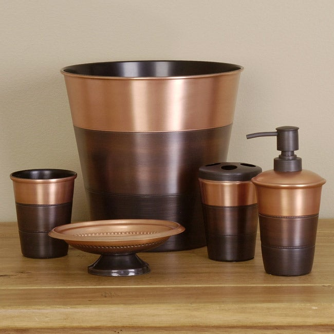Sequoia Copper Bathroom Accessory Set Free Shipping Today Overstock Com 10812386