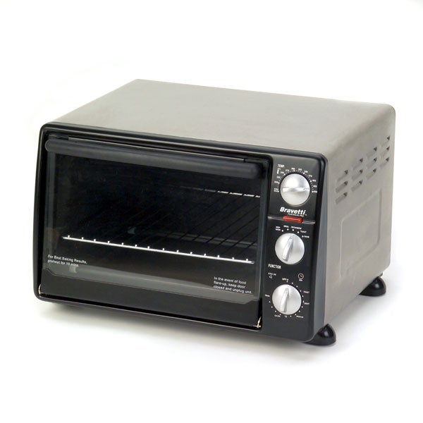 Bravetti Pro Convection Rotisserie Toaster Oven Free