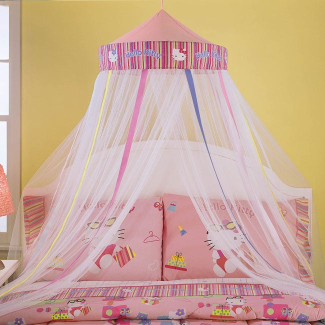 Hello Kitty Pink Bed Canopy