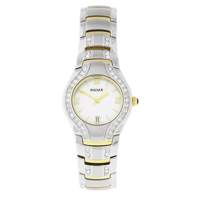 Pulsar Women's Crystal Accent Dress Quartz Watch