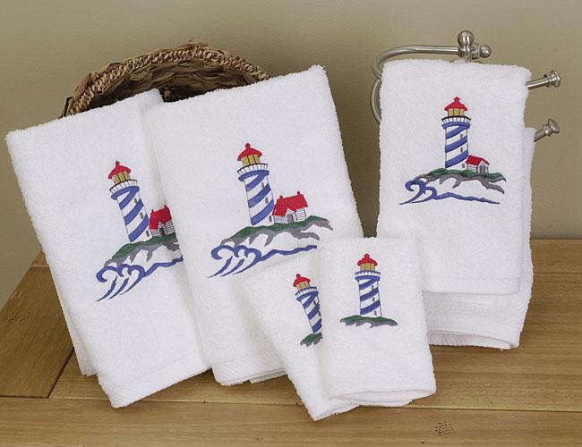 Vohann Lighthouse Towels (Set of 6)
