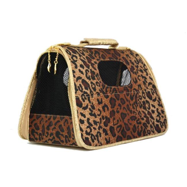 Leopard Print Fashion Pet Tote