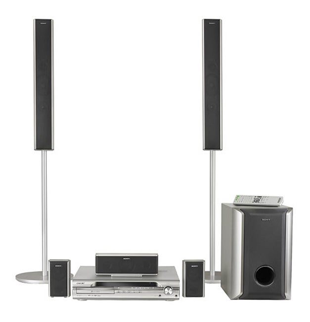 sony home theater dvd 5 1 surround sound system. Black Bedroom Furniture Sets. Home Design Ideas