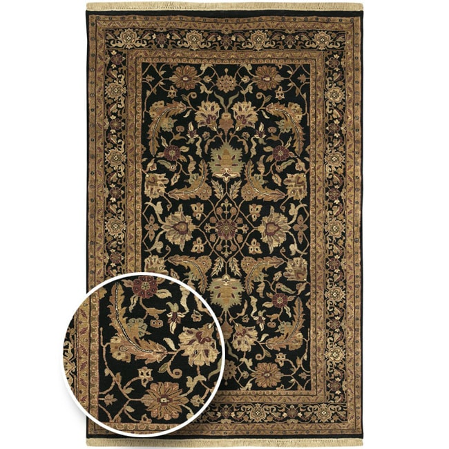 Hand-knotted Legacy Collection Wool Area Rug (7'9 x 9'9')