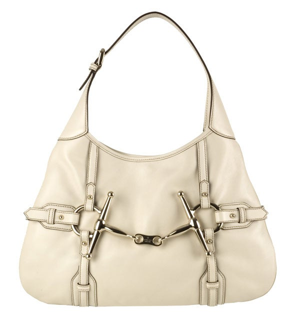 8d770aa6eec Shop Gucci 85th Anniversary Leather Hobo Bag - Free Shipping Today -  Overstock - 2615406