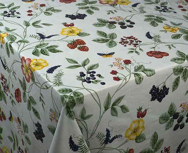 Garden Vine Vinyl Tablecloth