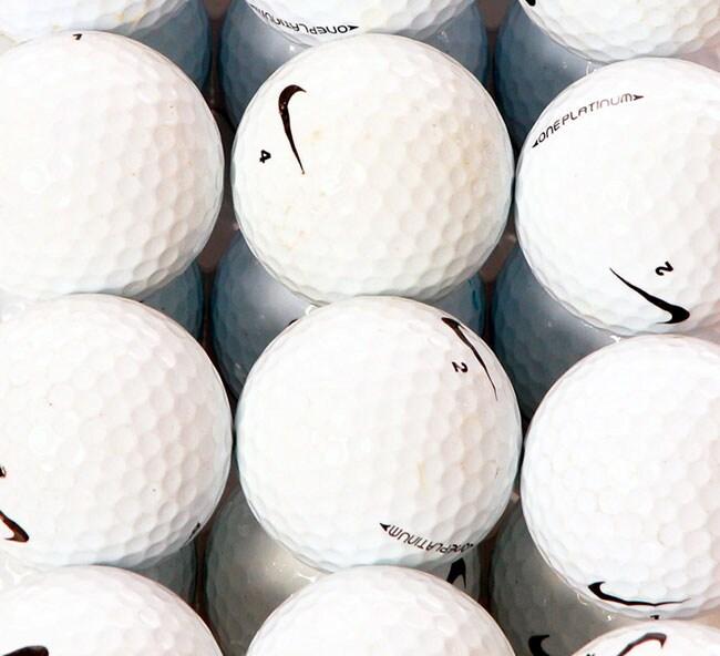 Nike One Platinum 36 Pack AAA Recycled Golf Balls (Refurbished)