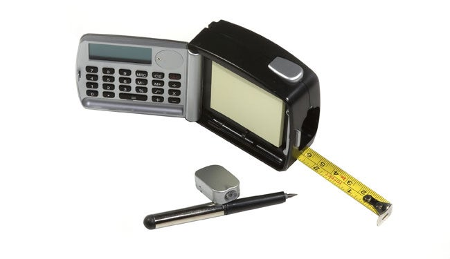 5 in 1 Tape Measure w/ Calculator, Light - Thumbnail 0
