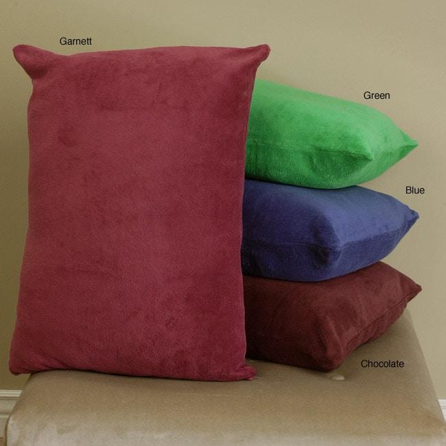 Jumbo Coral Fleece Pillows (Set of 4)