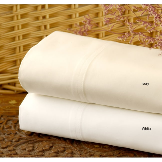Sateen Combed Cotton 1500 Thread Count Sheet Set