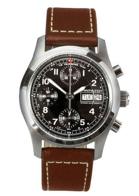 cc4940454 Shop Hamilton Khaki Field Automatic Chronograph Watch - Free Shipping Today  - Overstock - 2619614