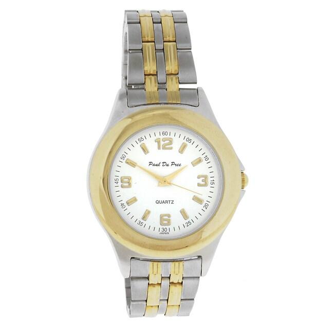 Paul Du Pree Men's Dress Quartz Watch