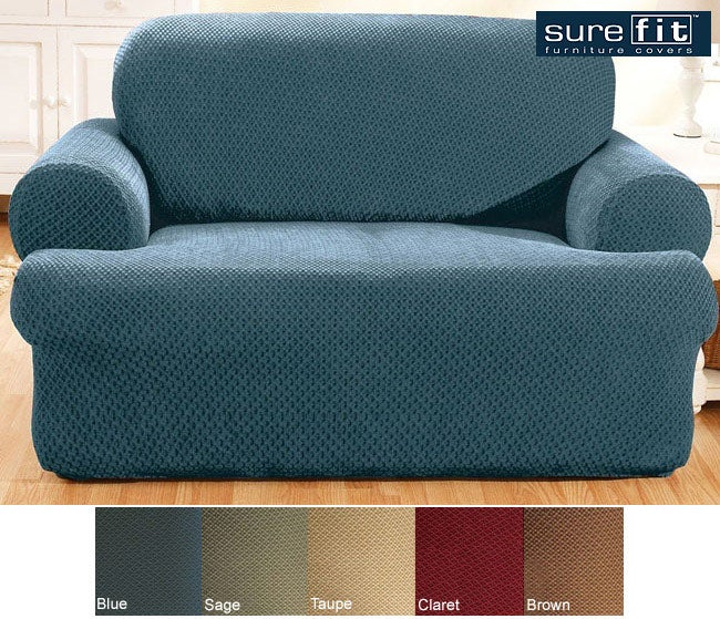 Sure Fit Stretch Modern T-cushion Sofa Slipcover