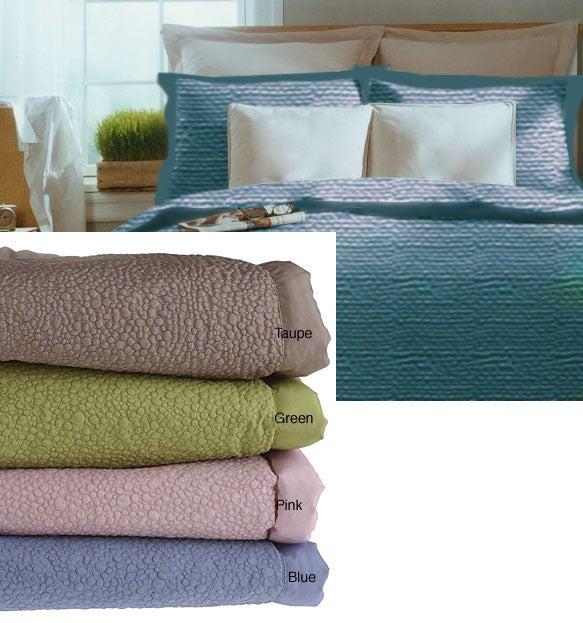 Microfiber Pebble Comforter Set w/Shams