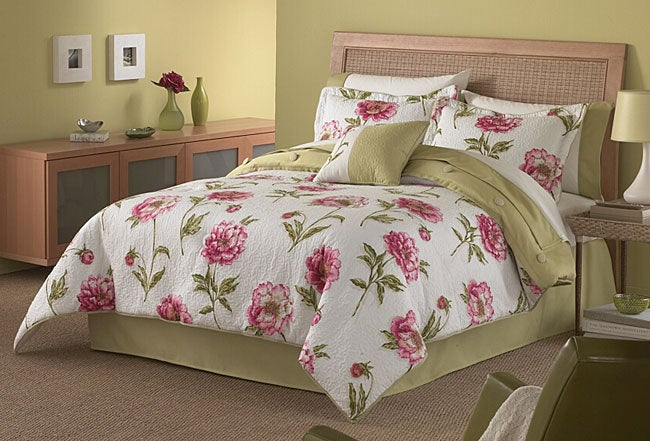 Peony Fresca 4-piece Comforter Set