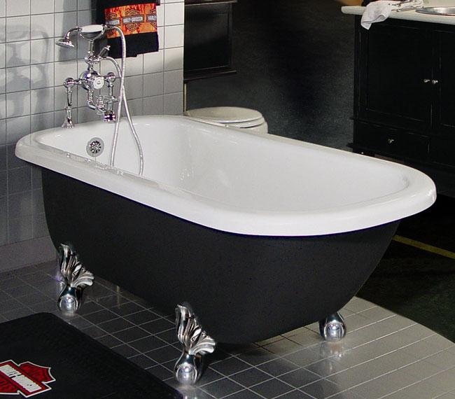 Custom Painted Maverick Clawfoot Bathtub Free Shipping