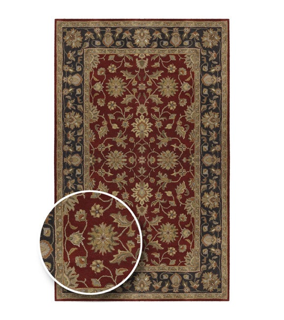 Hand-tufted Camelot Collection Wool Area Rug - 10'x 14'