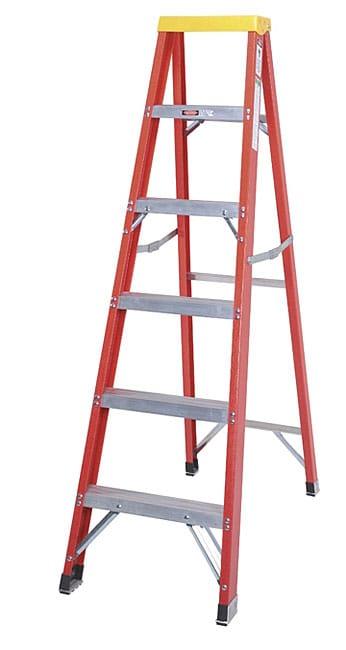 Shop Type 1aa Fiberglass 6 Foot Step Ladder Free