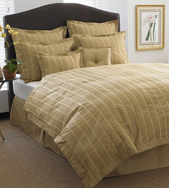Biltmore Gold Duvet Cover Set - Thumbnail 0