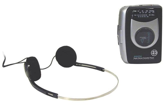 Portable AM/FM Stereo Cassette Player