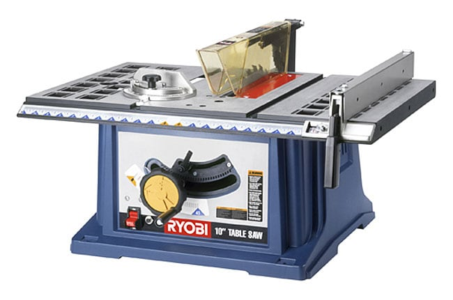 Factory Reconditioned Ryobi Zrrts10 10 Inch Table Saw With Steel Stand Free Shipping Today