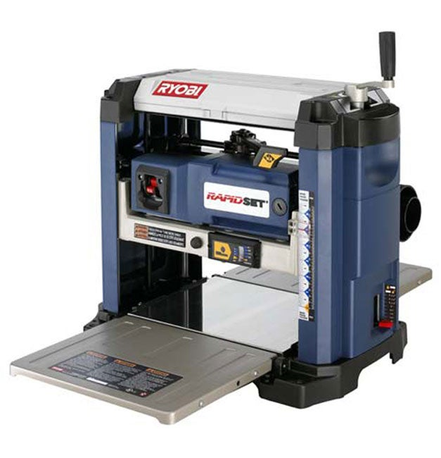 Factory reconditioned ryobi zrap1301 15 amp 13 inch surface planer free shipping today Bench planer