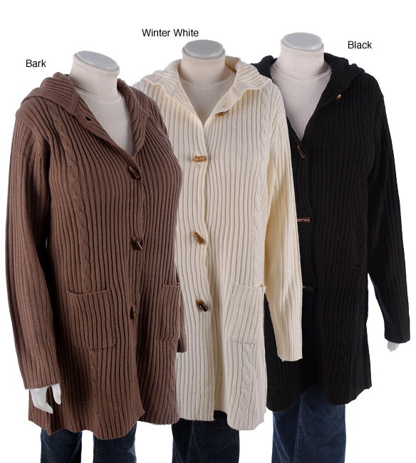 Sweater Coat Plus Size