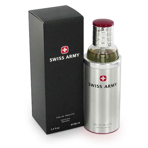Swiss Army Men's 3.4-ounce Eau de Toilette Spray