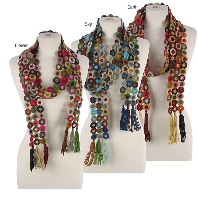 Handmade Crochet Scarf Nepal Free Shipping On Orders