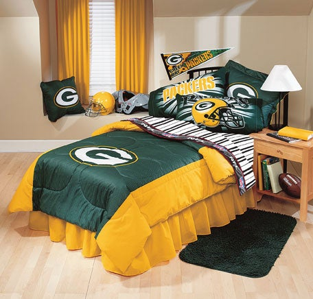 Green Bay Packers Comforter and Sheet Set