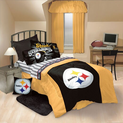 Image Result For Pittsburgh Steelers Twin Sheet Set