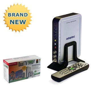 Adaptec Dual TV Tuner and DVR PVR Video Recorder